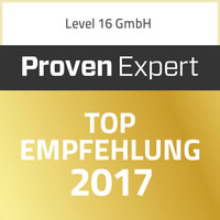 Level 16 Top Empfehlung 2017